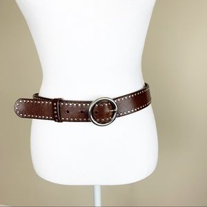 Olga Santini leather belt
